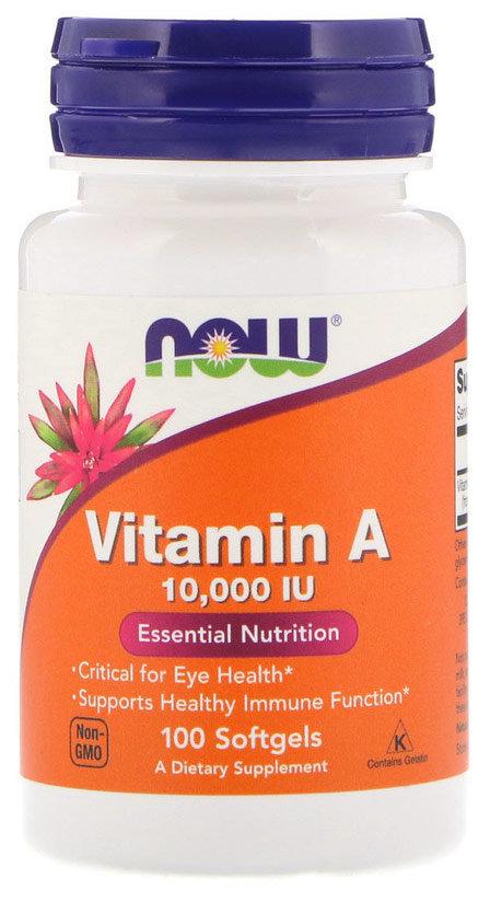 Витамин А, 10 000МЕ