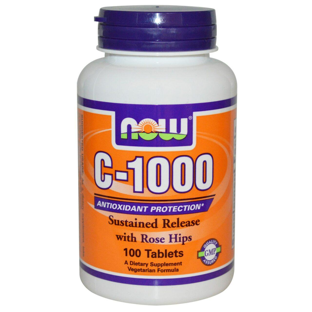 Витамин С-1000 / Vitamin C-1000 (100 штук)