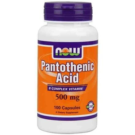 Пантотеновая кислота (Pantothenic Acid)