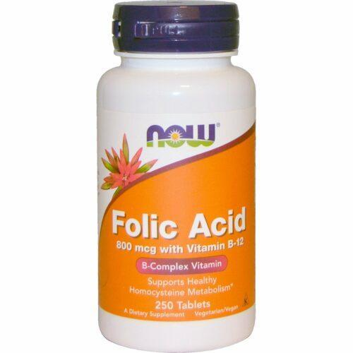 Фолиевая кислота с витамином B-12