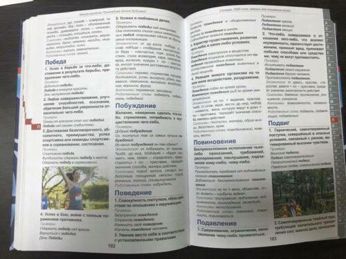 Словарь терминов русского языка для начальной школы